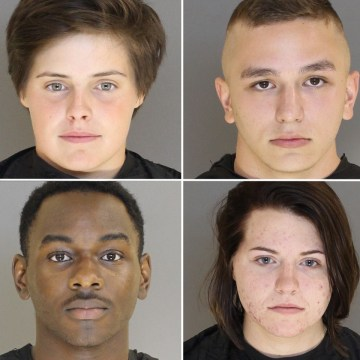 Image: Clockwise from left; Clayre Savage, Brandon Munoz, Kayla Eilerman, and Daveion Green, Airmen from Shaw Air Force Base