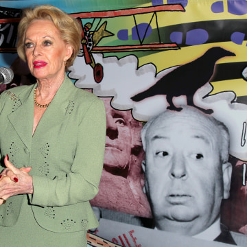 "Image: Actress and ""The Birds"" cast member Tippi Hedren attends the ""Directors Series"" 2nd Annual Commemorative Ticket press event presented by Red Line Tours at the Egyptian Theater on Jan. 17, 2013 in Hollywood, California."