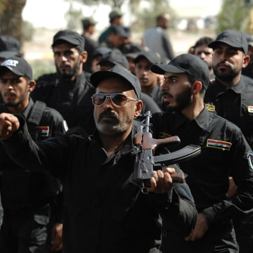 Image: Iraq's Mahdi Army Vows To Fight ISIS In Baghdad March