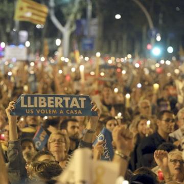 Image: Catalonia Protest