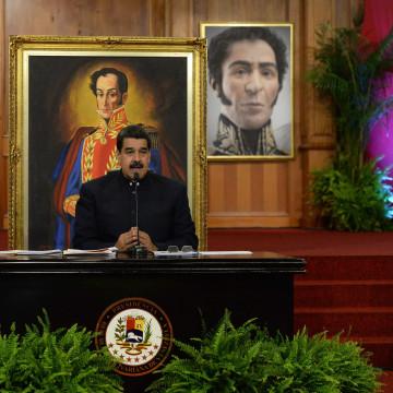Image: VENEZUELA-POLITICS-MADURO