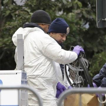 Image: New York attack scene