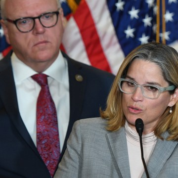 Image: San Juan Mayor Carmen Yulin Cruz speaks