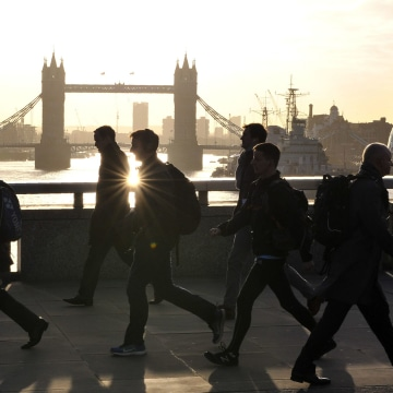 Image: London Commuters