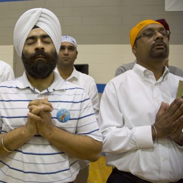 Image: Wisconsin Sikh temple funeral