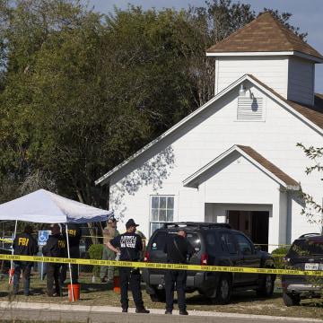 Image: Texas shooting scene