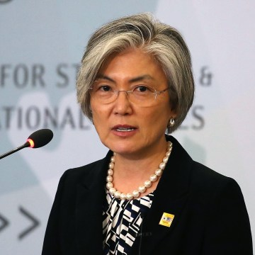 Image: South Korean Foreign Affairs Minister Kang Kyung-wha
