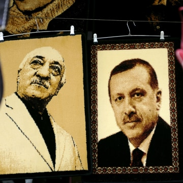 Image: Erdogan and Gulen