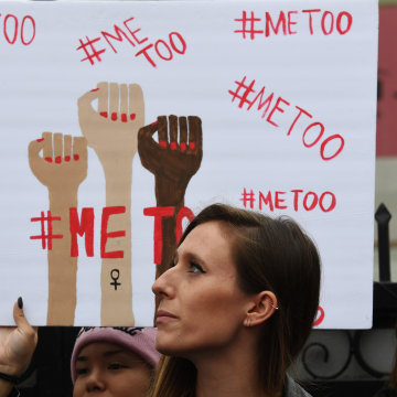 Image: #MeToo march in Hollywood