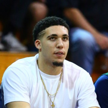 Image: A file photo of LiAngelo Ball while playing for Chino Hills.