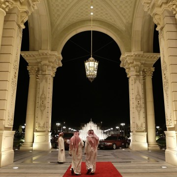 Image: Ritz Carlton in Riyadh