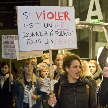 Image: Protest in Paris
