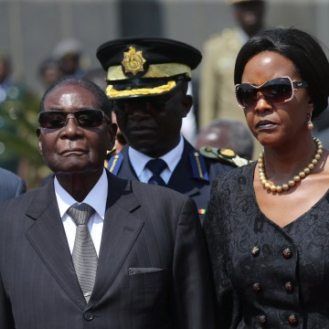 Image: Robert Mugabe and Grace Mugabe