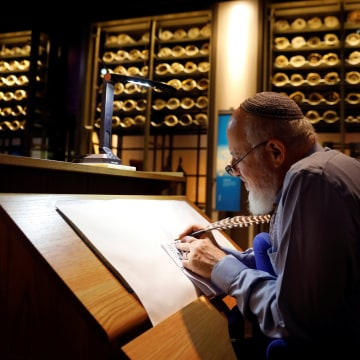 Image: The Museum of the Bible holds a preview in Washington