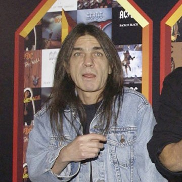Image: AC/DC co-founder and guitarist Malcolm Young at an event in London, March 3, 2003.