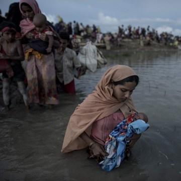 Image: FILES-BANGLADESH-MYANMAR-UNREST-REFUGEE-US