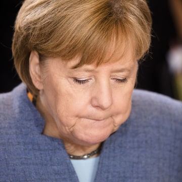 Image: German Chancellor Angela Merkel