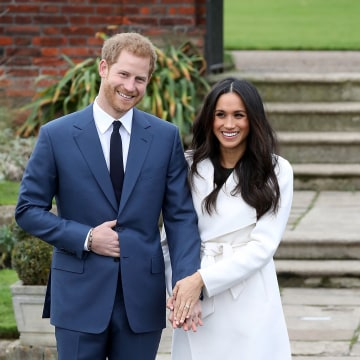 Image: Announcement Of Prince Harry's Engagement To Meghan Markle