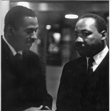Image: Rep. John Conyers (D-Mich.) with Rev. Martin Luther King, Jr.