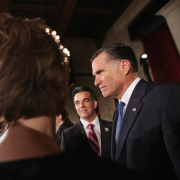 Mitt Romney Addresses Latino Coalition's Small Business Summit Luncheon