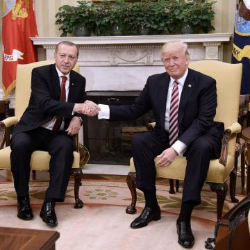 Image: Trump and Erdogan