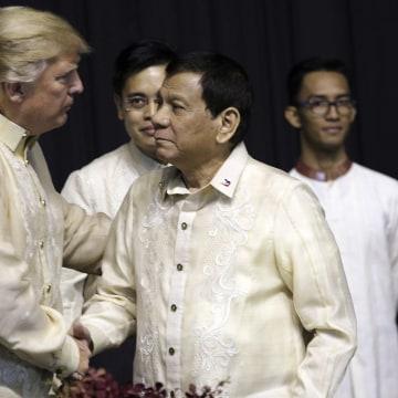 Image: Trump and Duterte