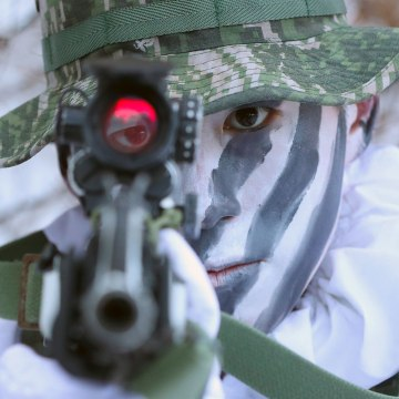 Image: Military Winter Drills