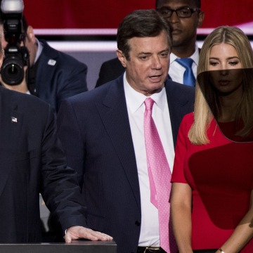Image: Paul Manafort, Donald Trump