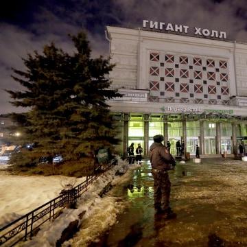 Image: Explosion at supermarket in St. Petersburg