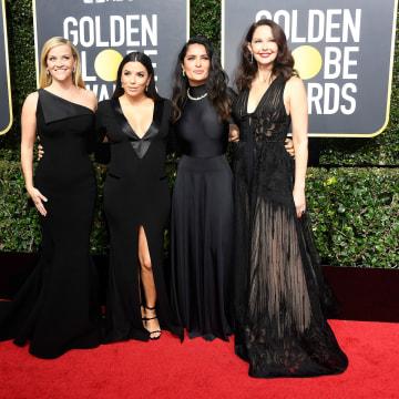 Image: Reese Witherspoon, Eva Longoria, Salma Hayek, and Ashley Judd