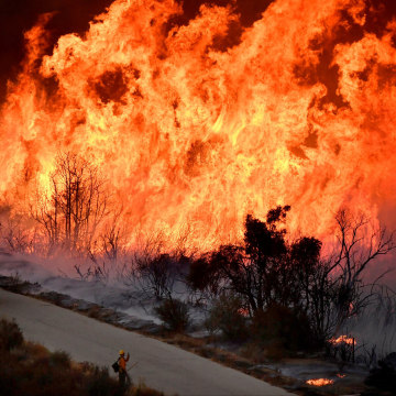 Image: Thomas Fire in California