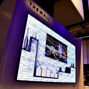 Image: Samsung's 146-inch Modular TV, 'The Wall'