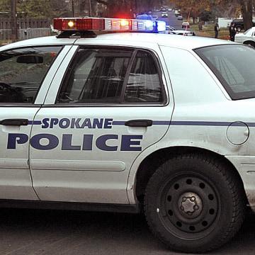 Image: Spokane police car