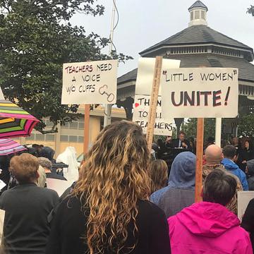 Image: Teacher Rally
