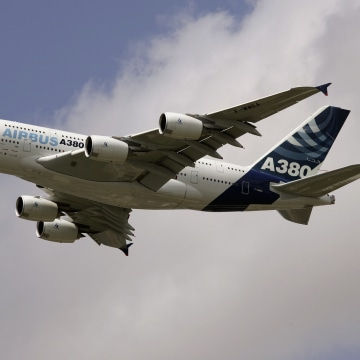 Image: The Airbus A380 was marketed as a solution to congested airports.