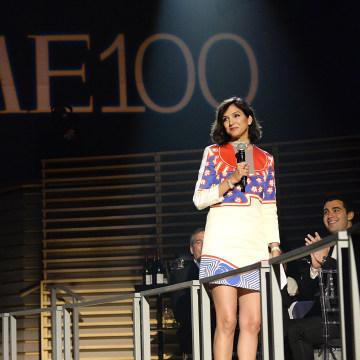 Image: Radhika Jones speaks at the Time 100 gala