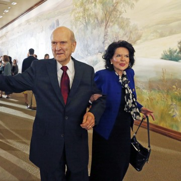 Image: Russell M. Nelson and Wendy Nelson