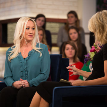 Image: Megyn Kelly sat down with Alana Evans, the friend of Stormy Daniels, on Jan. 16, 2018.