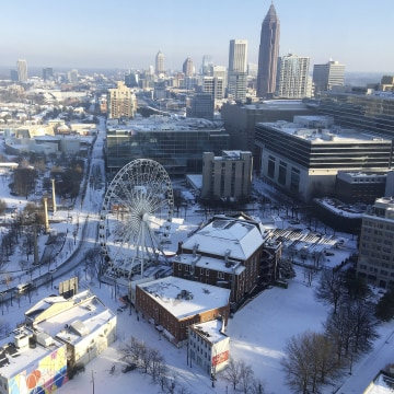 Image: Snow in Atlanta