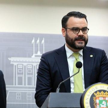 Image: Gov. Ricardo Rossello and Gerardo Portela, director of the island's Fiscal Agency and Financial Advisory Authority.