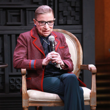 Image: 2018 Sundance Film Festival - Cinema Cafe With Justice Ruth Bader Ginsburg And Nina Totenberg