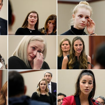 Image: Nassar victims testify