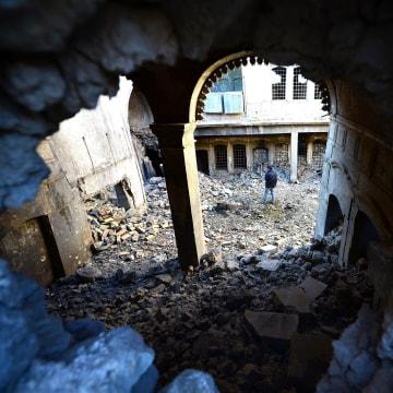 Image: Destruction in Mosul