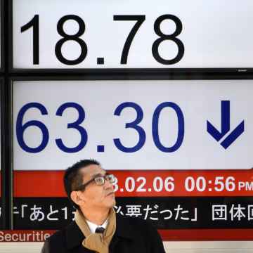 Image: Nikkei Stock Average plunges