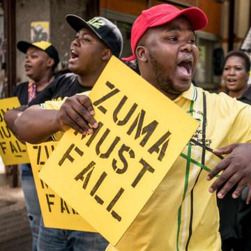 Image: Ramaphosa supporters
