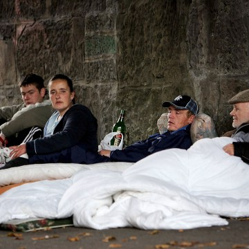 Image: Homeless in Scotland