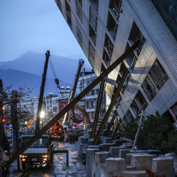 Image: Earthquake in Taiwan