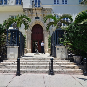 Image: FILE PHOTO: The main entrance hall is seen in a South Beach mansion formerly owned by fashion designer Gianni Versace in Miami Beach