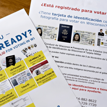 Image: Promotional materials for VoteRiders