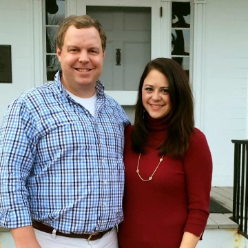 Image: David Sorensen and his now ex-wife Jessica Corbett